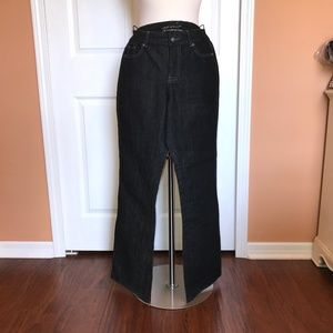 NWT Coldwater Creek black denim Spirit Jeans 8